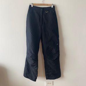 Slalom black medium women's ski pants
